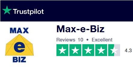 Trustpilot 10 Reviews for Max-e-Biz Ltd.